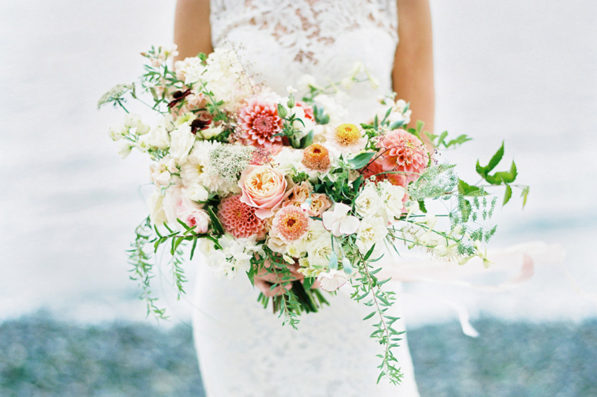 Bouquet Sposa Rosa Quarzo.Bouquet Da Sposa 2016 Idee E Tendenze