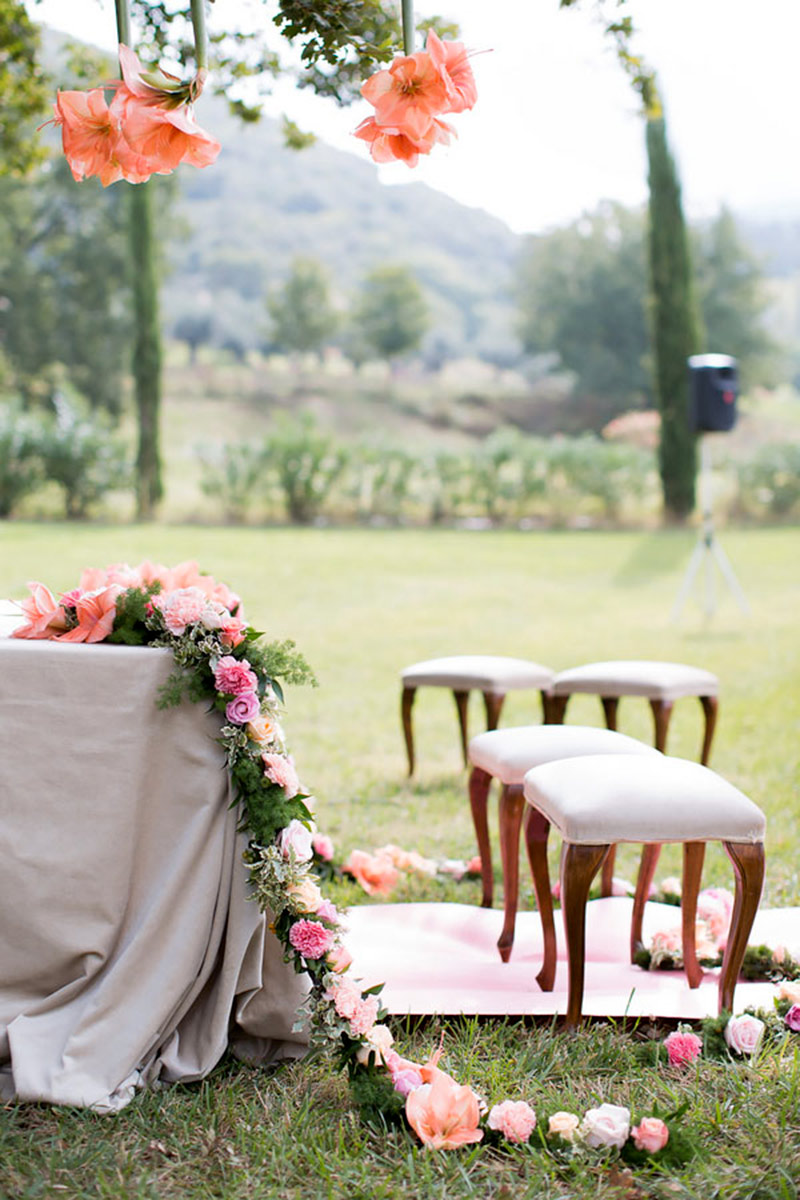 Matrimonio Civile All Aperto Toscana : Matrimonio in agriturismo il boho chic